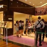 Envidraçamento da Lojas Hope – Shopping Plaza Sul, realizamos também em outras unidades.