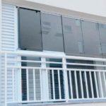 Estrutura para adaptação da condensadora externa.